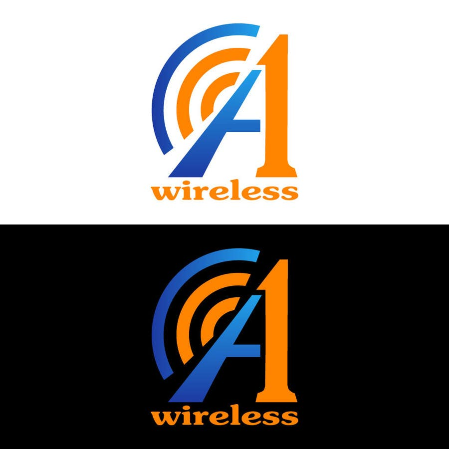 Inscrição nº                                         126                                      do Concurso para                                         Logo Design for A-1 Wireless