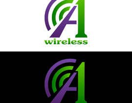 #128 para Logo Design for A-1 Wireless por vladimirsozolins