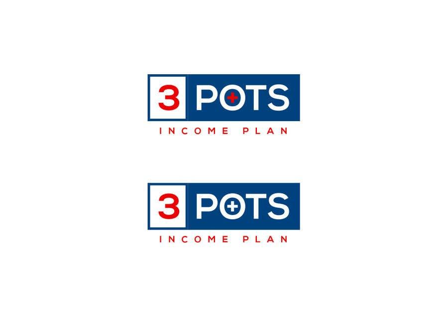 "Contest Entry #                                        194                                      for                                         Logo Design ""3 Pots Income Plan"""