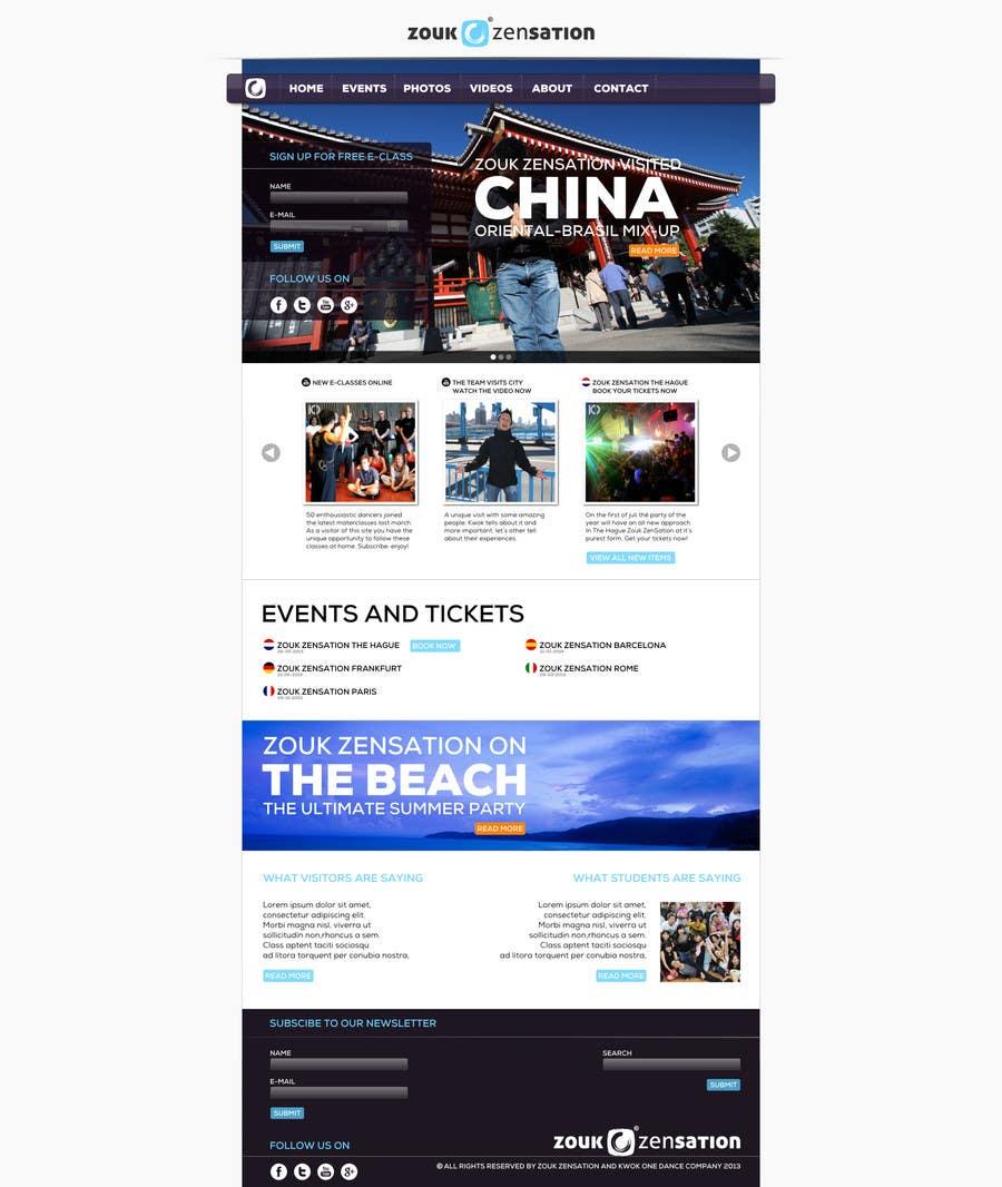 Inscrição nº 2 do Concurso para Graphic Design for (re)building simple website