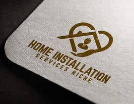 #473 pentru Home Installation Contractors Logo de către farhana6akter