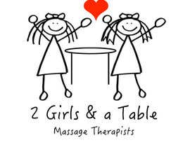 #1 untuk Design a Logo for Two Girls and a Table oleh ecualexstudio