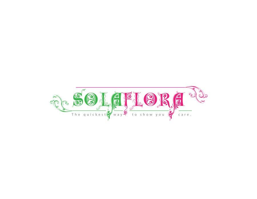 Konkurrenceindlæg #                                        71                                      for                                         Design a Logo for flower shop called sola flora