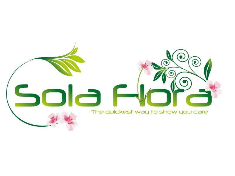 Inscrição nº 115 do Concurso para Design a Logo for flower shop called sola flora