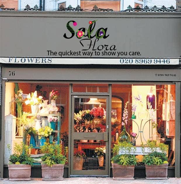 Konkurrenceindlæg #                                        142                                      for                                         Design a Logo for flower shop called sola flora