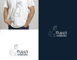 #598 for DoggyWarriors Logo Contest by TheCloudDigital