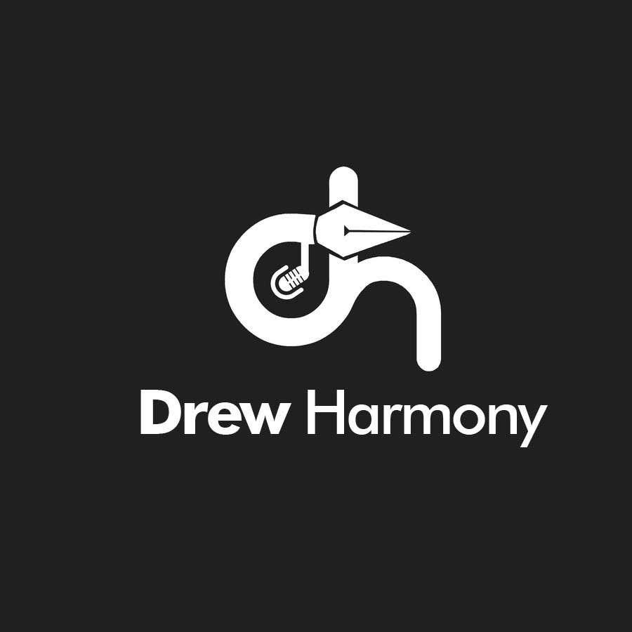 "Konkurrenceindlæg #                                        136                                      for                                         Design a Logo for My Name ""Drew Harmony"""