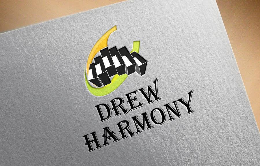 "Konkurrenceindlæg #                                        23                                      for                                         Design a Logo for My Name ""Drew Harmony"""
