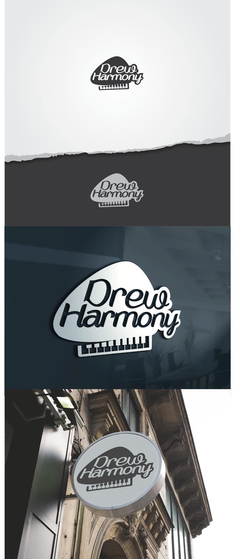 "Konkurrenceindlæg #                                        66                                      for                                         Design a Logo for My Name ""Drew Harmony"""