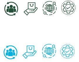 #29 for 4 Custom Icon Designs af sohanrmn