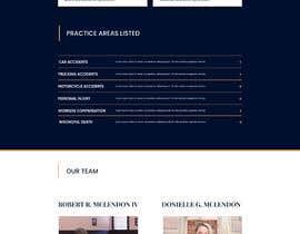 #38 untuk Web Design for an Attorney oleh AlexMo1