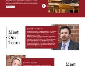 #59 untuk Web Design for an Attorney oleh BelleWest