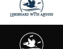 """#212 pentru Logo for """"Longboard With Amigos"""" (surf company) de către imranislamanik"""