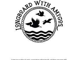 """#215 pentru Logo for """"Longboard With Amigos"""" (surf company) de către imranislamanik"""