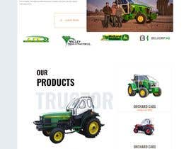#27 for Tractor Website 1 page (+ contract-work) af syedjaved90