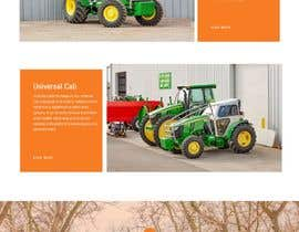 #55 for Tractor Website 1 page (+ contract-work) af rprifat