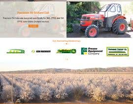 #53 for Tractor Website 1 page (+ contract-work) af GhadeerFares