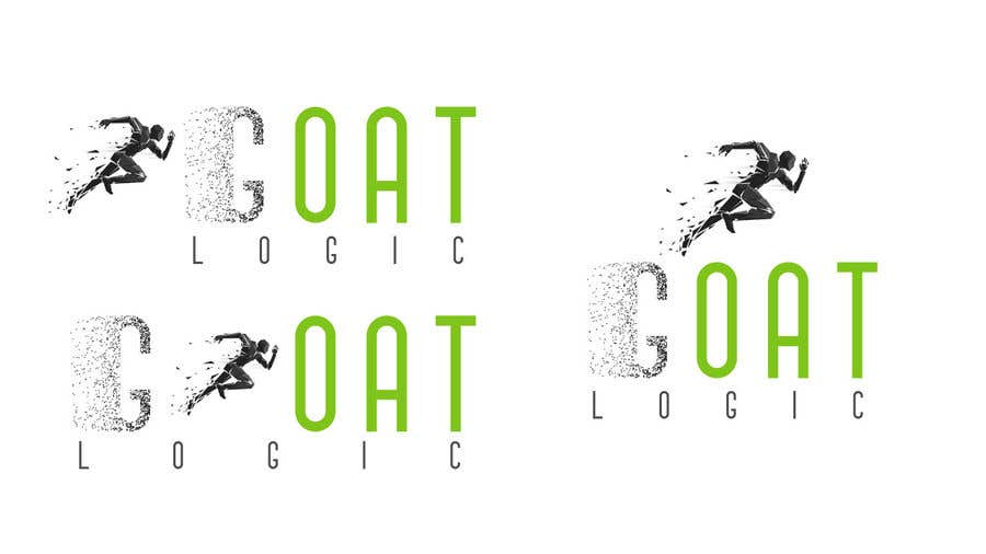 "Intrarea #                                        266                                      pentru concursul ""                                        Logo for the supplement company G.O.A.T Logic                                     """