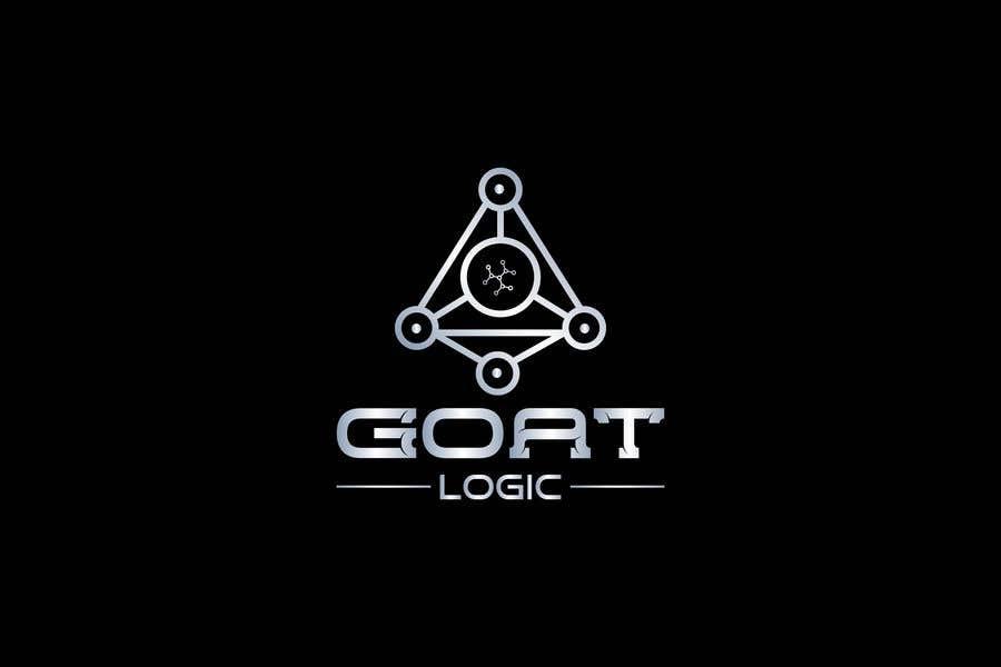 "Intrarea #                                        306                                      pentru concursul ""                                        Logo for the supplement company G.O.A.T Logic                                     """