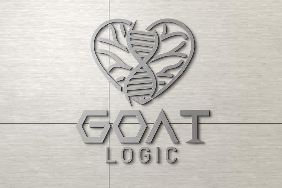 "Intrarea #                                        312                                      pentru concursul ""                                        Logo for the supplement company G.O.A.T Logic                                     """