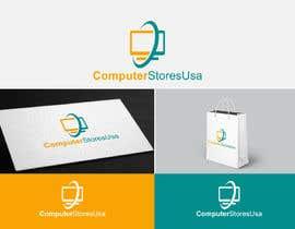 Nro 9 kilpailuun Design a Logo for computerstoresusa.com käyttäjältä geniusdesigner1