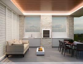 Nro 38 kilpailuun Design outdoor Patio area with kitchen käyttäjältä karinasilvaarqui