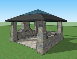 Nro 19 kilpailuun Design outdoor Patio area with kitchen käyttäjältä SsArchInt