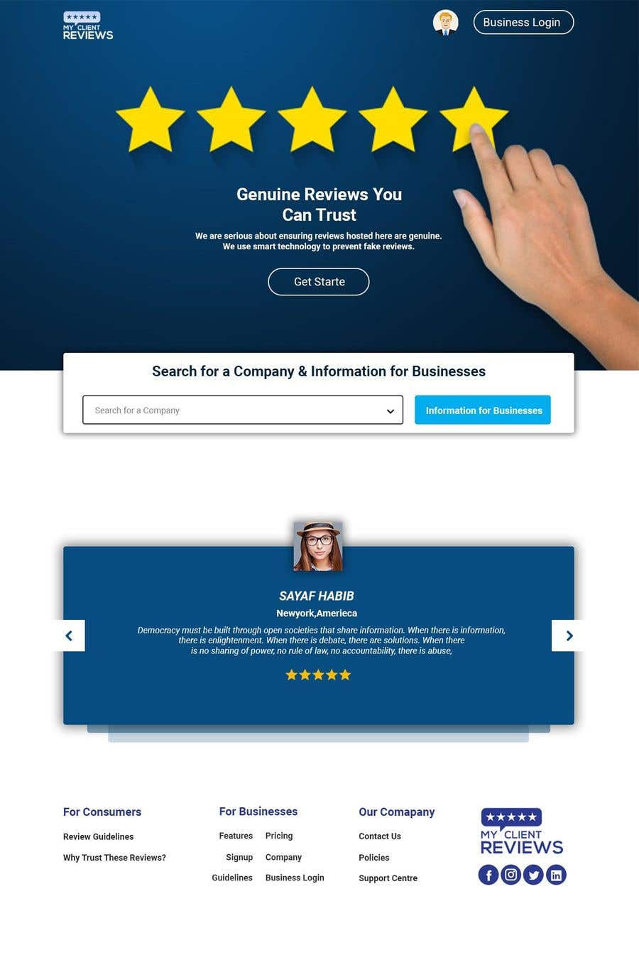 """Intrarea #                                        63                                      pentru concursul """"                                        Website Design Concept and Graphics                                     """""""