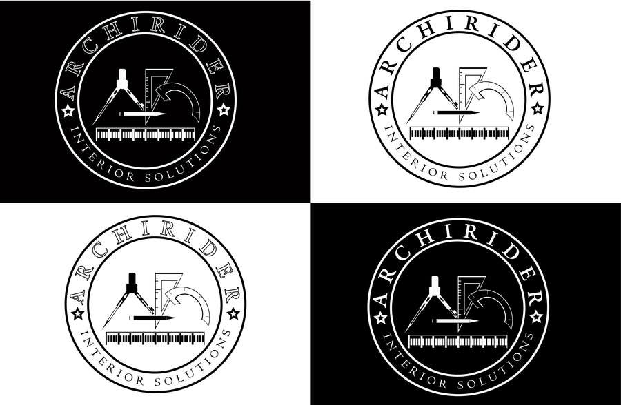 Proposition n°                                        68                                      du concours                                         Round logo for Architectural company