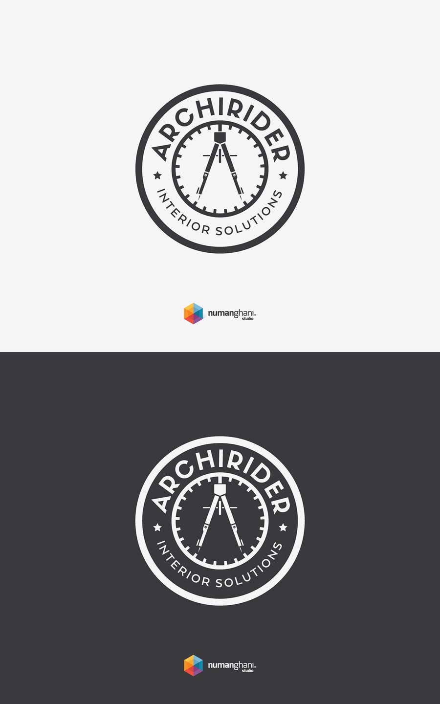 Proposition n°                                        78                                      du concours                                         Round logo for Architectural company