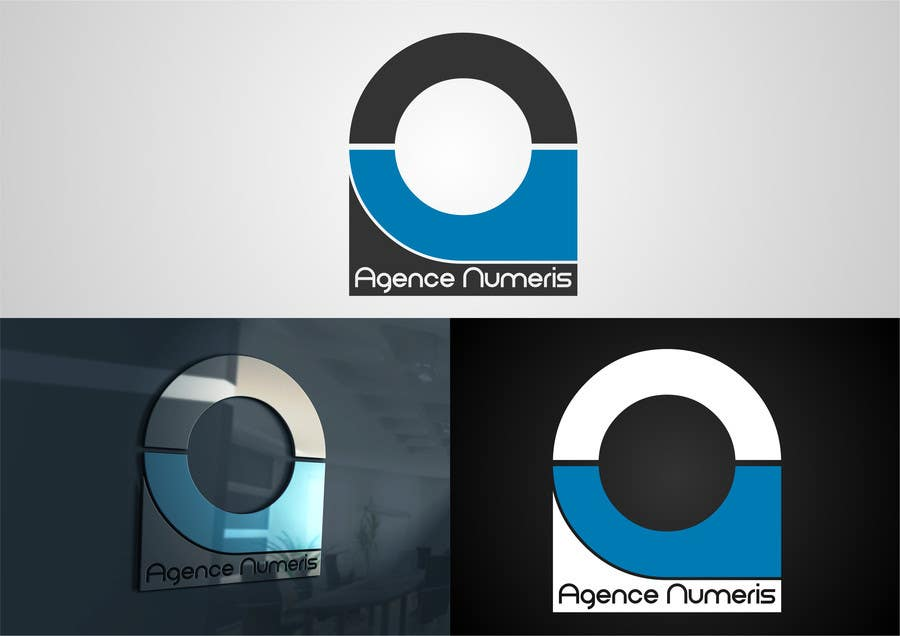 Contest Entry #                                        48                                      for                                         Create logo for Agence Numeris