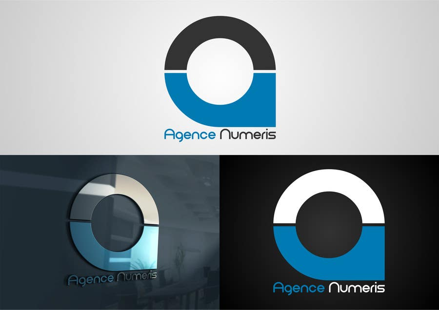 Contest Entry #                                        50                                      for                                         Create logo for Agence Numeris
