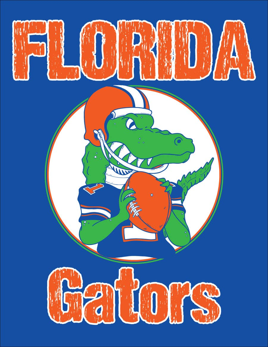 Contest Entry #                                        28                                      for                                         Design a T-Shirt for ( Florida Gator Football )