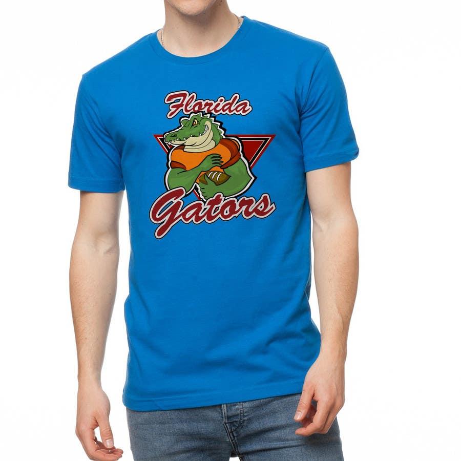 Konkurrenceindlæg #                                        8                                      for                                         Design a T-Shirt for ( Florida Gator Football )