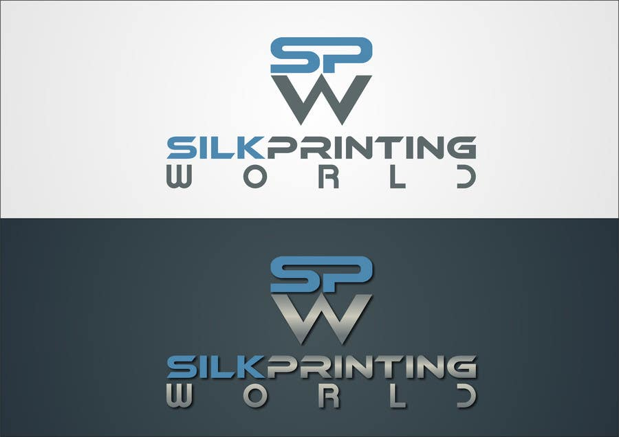 Contest Entry #24 for Design a Logo for SilkPrintingWorld Company