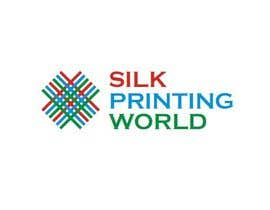 nº 19 pour Design a Logo for SilkPrintingWorld Company par aelienDESIGN