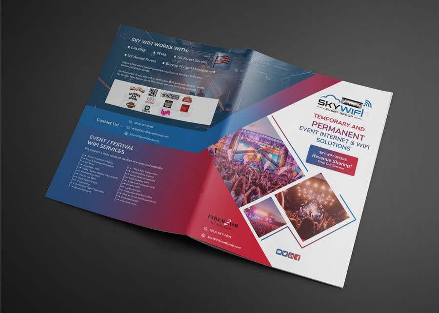 """Intrarea #                                        116                                      pentru concursul """"                                        Re-Design a Bi-Fold brochure                                     """""""