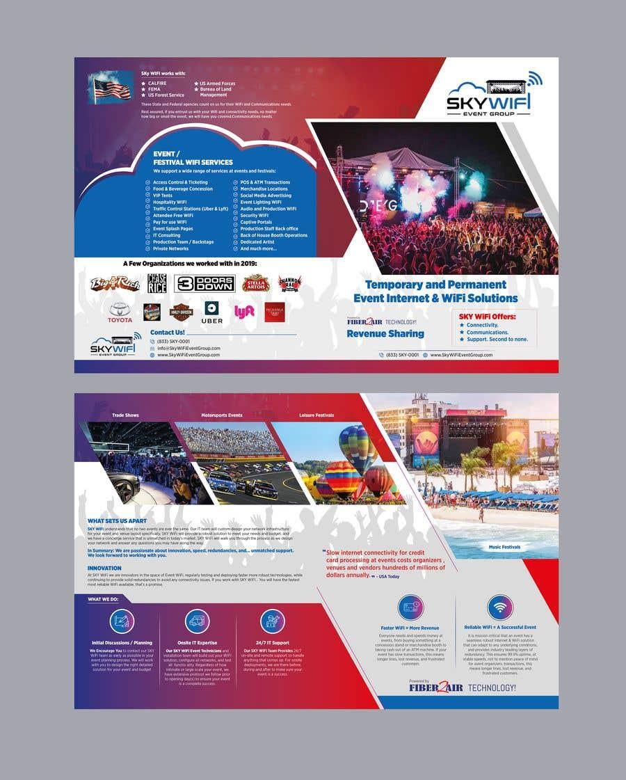 """Intrarea #                                        107                                      pentru concursul """"                                        Re-Design a Bi-Fold brochure                                     """""""