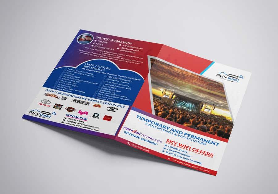 """Intrarea #                                        111                                      pentru concursul """"                                        Re-Design a Bi-Fold brochure                                     """""""