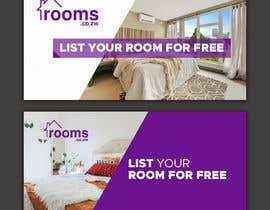 #71 untuk Rooms Facebook, Twitter Banner oleh kamrul62