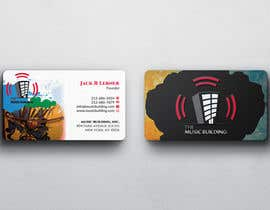 nº 125 pour Design some Business Cards for The Music Building par nuhanenterprisei
