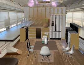 Nro 30 kilpailuun 3D House design in a BUS käyttäjältä TheresaSuen