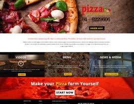 #2 para Design a Website Mockup for a pizzeria restaurant por suryabeniwal