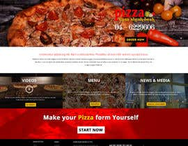 nº 4 pour Design a Website Mockup for a pizzeria restaurant par suryabeniwal