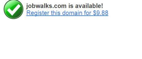 Inscrição nº 96 do Concurso para Suggest me a Domain name for Job Portal