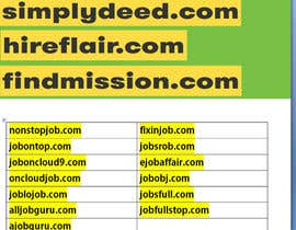 #34 cho Suggest me a Domain name for Job Portal bởi chauhansantosh