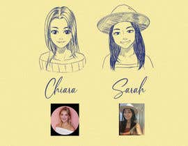 #644 for Turn my photo into a pen sketch af Dielissa