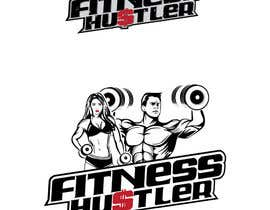#107 for Design FitnessHustler Logo by AWAIS0