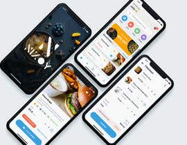 #20 untuk restaurants ordering app design UI Kit and screens - 26/02/2021 13:05 EST oleh parthoprothim