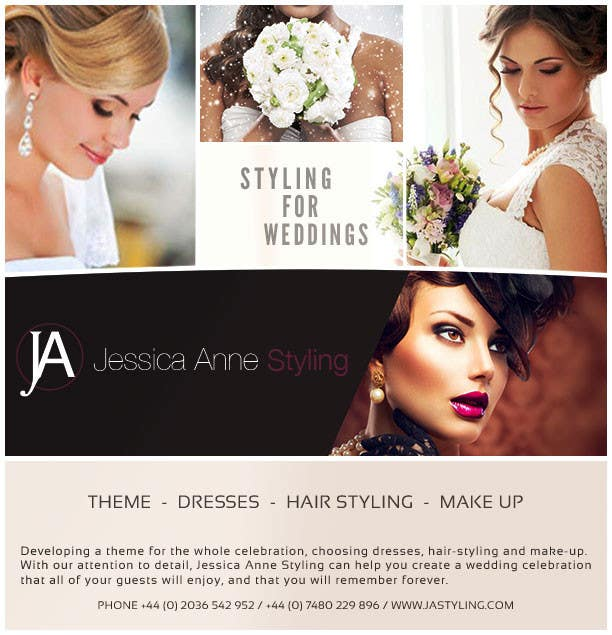 Contest Entry #                                        19                                      for                                         Design an Advertisement for Weddings